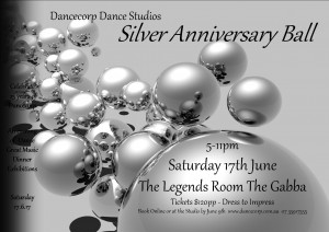 25 Year Anniversary Dance Spectacular Ball @ The Gabba Legends Function Room (Entry Via Gate One off Stanley Street) | Queensland | Australia